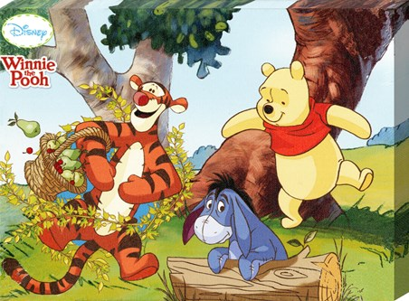 Jumping For Joy In The Hundred Acre Wood - Walt Disney's Winnie The Pooh