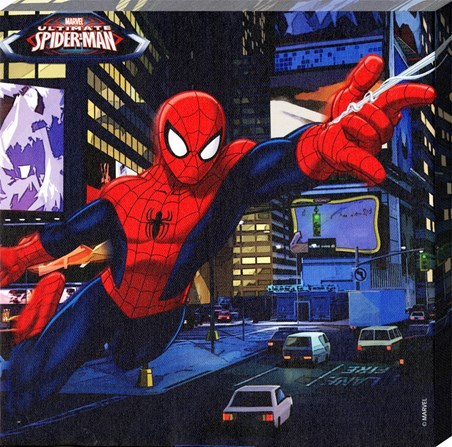 Spidey Flies Across The City - Marvel's Ultimate Spider-Man