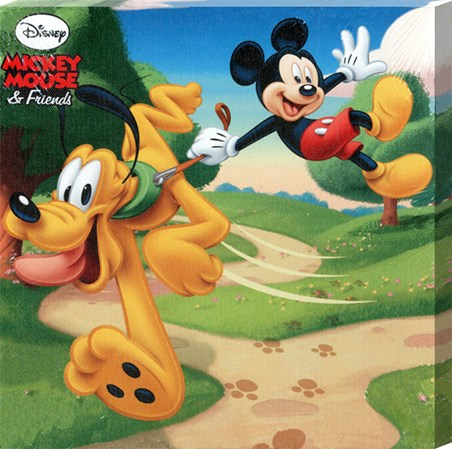 Taking Pluto For A Walk - Disney's Mickey Mouse & Friends