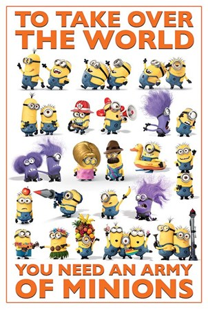 An Army of Minions, Despicable Me 2 Poster - Buy Online Despicable Me 2 Minions Poster