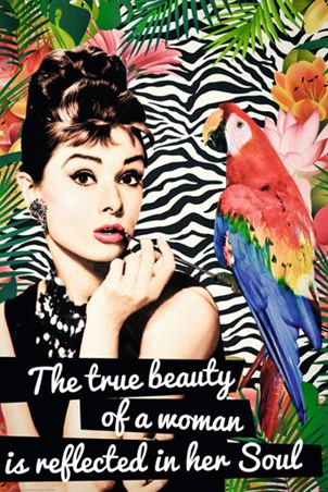 The True Beauty of a Woman Poster