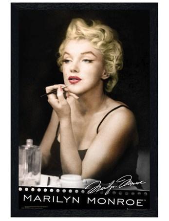 Black Wooden Framed Lipstick Dream Framed Poster