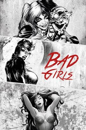 Bad Girls Triptych