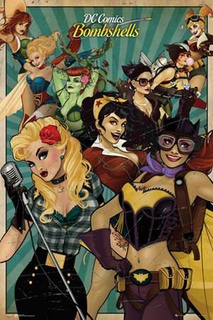 DC Comics Bombshells Poster