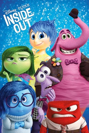 Disney Pixar's Inside Out Poster