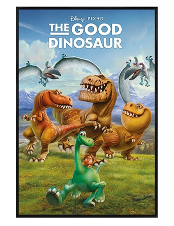 gloss black framed arlo spot friends the good dinosaur poster buy online. Black Bedroom Furniture Sets. Home Design Ideas