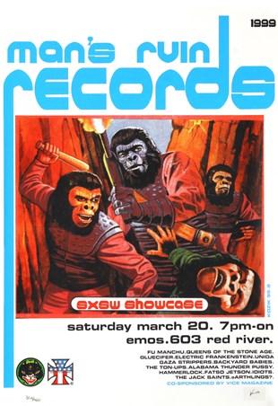 Man's Ruin Records SXSW Promo - Frank Kozik