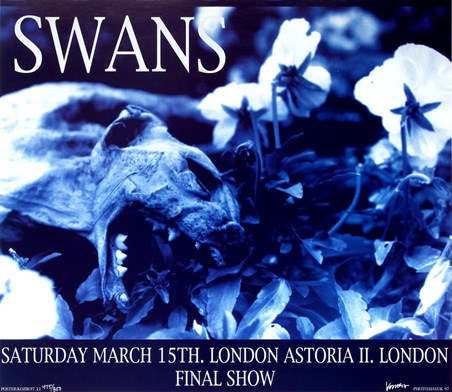 Swans at London Astoria II - Frank Kozik
