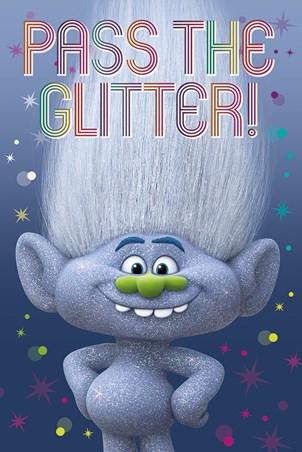 Guy Diamond Trolls Poster