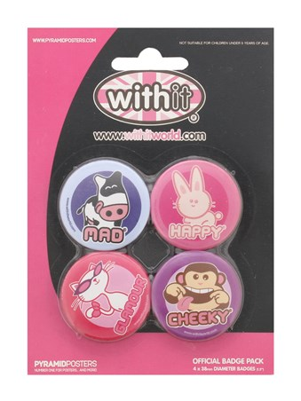 Withit Characters - Withit Badge Pack
