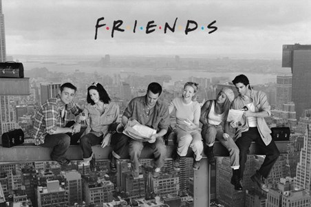 Friends on a Girder - Men on a Girder Parody - Friends TV Sitcom