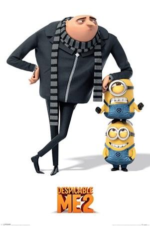 Minions - Despicable Me 2 Despicable Me 2 Minions Poster