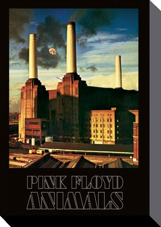 Animals pink floyd large canvas buy online for Dark side of the moon mural