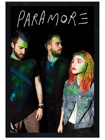 paramore self titled tour poster - photo #1