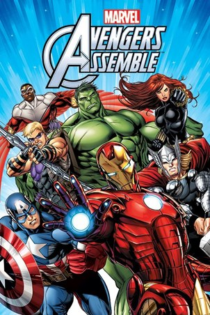 Avengers Assemble Characters, Marvel Poster - Buy Online