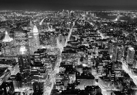 Henri Silberman's View From The Empire State Building - 8 Sheet Cityscape Wall Mural