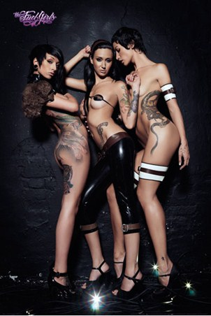 Tattooed Beauties - Fuel Girls