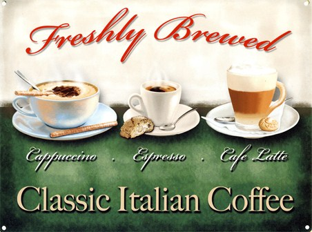 Freshly Brewed! - Classic Italian Coffee