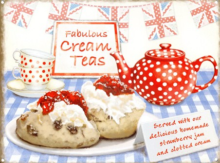 ***Fabulous Cream Teas
