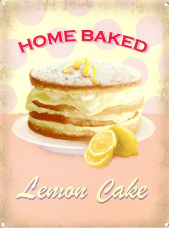 Home Baked - Lemon Cake