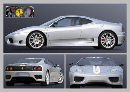 A Close Look at The Ferrari - Ferrari 360 Challenge Stradale