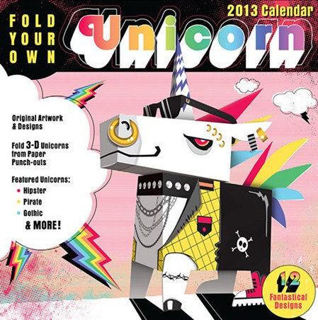 Fold Your Own Unicorn - Cool Creations