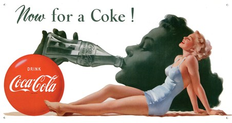Now For A Coke! - Drink Coca-Cola