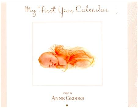 My First Year Calendar - Anne Geddes