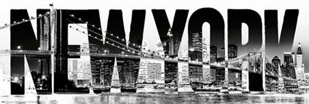 New York in Black and White, The Big Apple Poster - Buy Online: www.popartuk.com/photography/new-york/new-york-in-black-and-white...