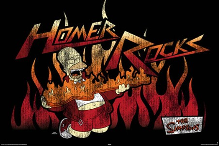 Homer Rocks - The Simpsons