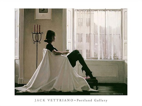 In Thoughts of You - Jack Vettriano