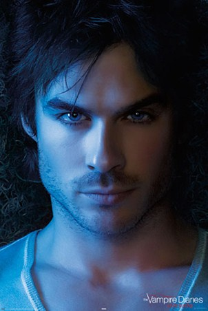 Close Up of the Gorgeous Damon Salvatore - Ian Somerhalder from The Vampire Diaries