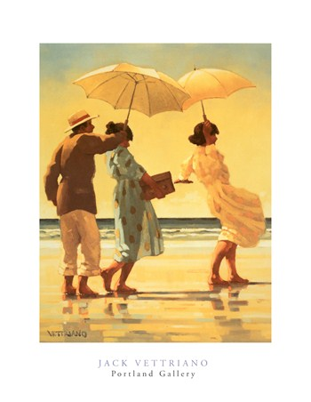The Picnic Party, Jack Vettriano Printr