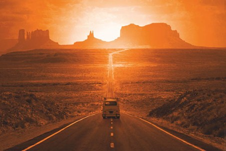 Into the Sunset - Monument Valley