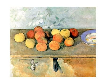 Mele E Biscotti - Paul Cezanne