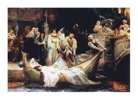 The Lady of Shalott - G E Robertson