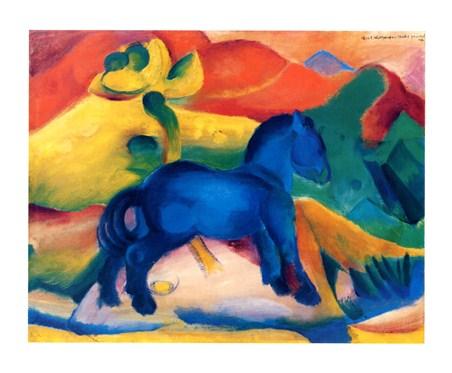 Blaues Pferdchen - Franz Marc