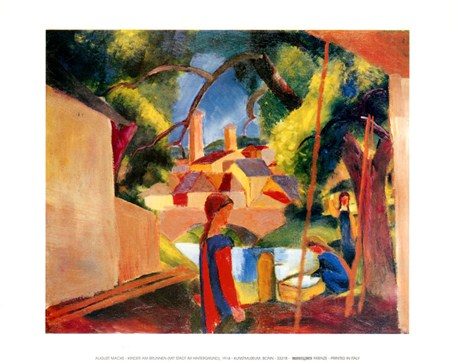 Children at the Lake - August Macke
