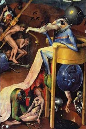Hungry Bird - Hieronymus ( Jeroen Van Aeken) Bosch
