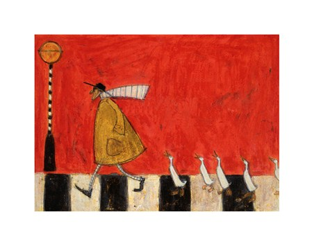 Crossing with Ducks - Sam Toft