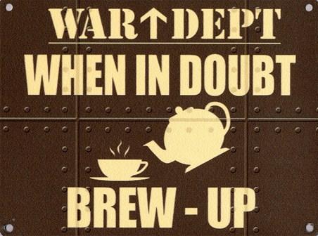 Brew-Up - War Dept.