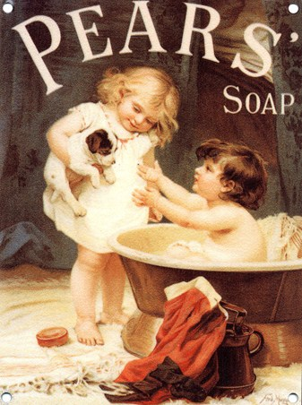 'His Turn Next' - Pears' Soap