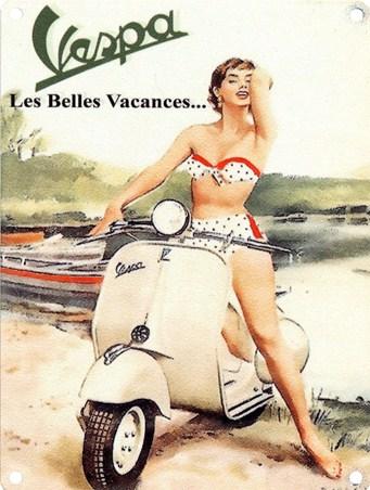 Les Belle Vacances - Vespa