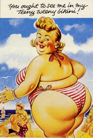Teeny Weeny Bikini - Seaside Humour
