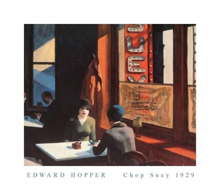 Chop Suey - Edward Hopper