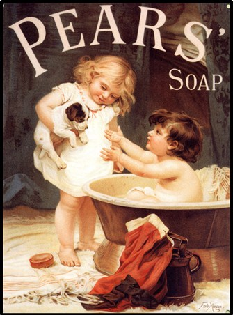 His Turn Next - Pears' Soap