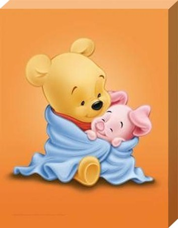 Bed Time with Baby Pooh and Piglet - Winnie The Pooh