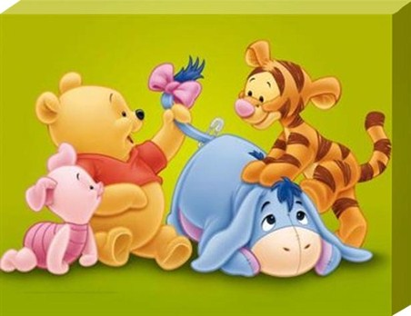 Baby Pooh and the Gang! - Winnie The Pooh