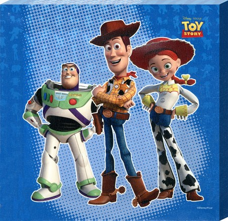 Buzz, Woody & Jessie - Disney Pixar's Toy Story