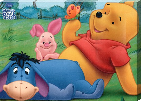 Pooh, Piglet and Eeyore Having Fun! - Disney's Winnie the Pooh